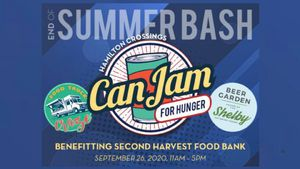 Can Jam For Hunger Benefitting Second Harvest Food Band