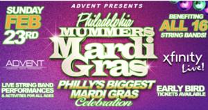 Philadelphia Mummers Mardi Gras Festival