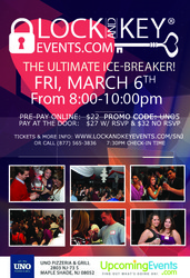 March 6th South Jersey Lock and Key Singles Event!