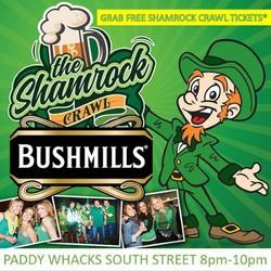 TONIGHT! FREE Shamrock Crawl Ticket Run @ Paddy Whacks - RSVP