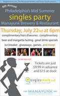 8th Annual Philly's Largest After-Work Mid-Summer Singles Party!