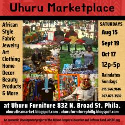 One Africa! One Nation! Uhuru Pop Up Marketplace