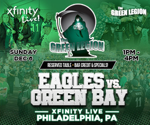 Eagles vs. Green Bay - The Green Legion Tailgate with Hollis Thomas!
