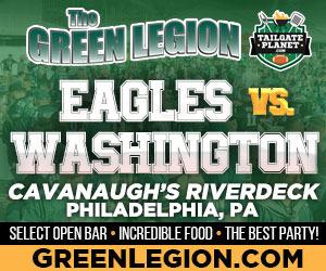 Eagles vs. Washington - Eagles Tailgate at Cavanaugh's Riverdeck