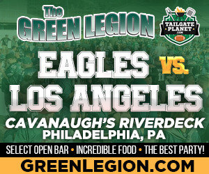 Eagles vs. Los Angeles - Eagles Tailgate at Cavanaugh's Riverdeck