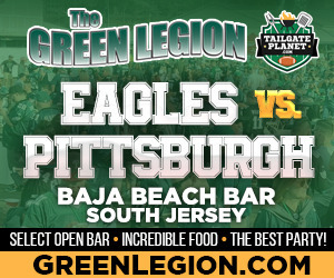 Eagles vs. Pittsburgh - South Jersey Eagles Game Watch Party