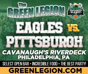 Eagles vs. Pittsburgh - Eagles Tailgate at Cavanaugh's Riverdeck
