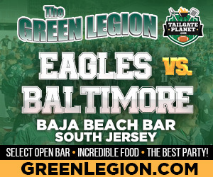 Eagles vs. Baltimore - South Jersey Eagles Tailgate at Baja Beach in Berlin