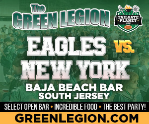 Eagles vs. New York - South Jersey Eagles Tailgate at Baja Beach in Berlin