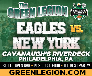 Eagles vs. New York - Eagles Tailgate at Cavanaugh's Riverdeck