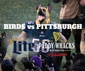 Paddy Whacks - EAGLES Game South Street Outdoor Game Watching Party - 10/18 vs Baltimore