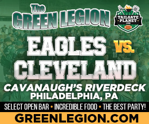Eagles vs. Cleveland - Eagles Tailgate at Cavanaugh's Riverdeck