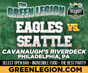 Eagles vs. Seattle - Eagles Tailgate at Cavanaugh's Riverdeck