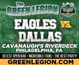 Eagles vs. Dallas -  Eagles Tailgate at Cavanaugh's Riverdeck