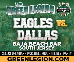 Eagles vs. Dallas - South Jersey Eagles Tailgate at Baja Beach in Berlin
