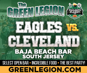 Eagles vs. Cleveland - South Jersey Eagles Tailgate at Baja Beach in Berlin