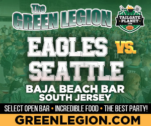Eagles vs. Seattle - South Jersey Eagles Tailgate at Baja Beach in Berlin