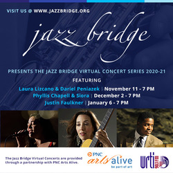 Jazz Bridge presents Justin Faulkner & Friends Virtually