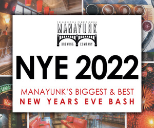 NYE 2021 - Manayunk's Hottest (and Safest) New Year's Eve Bash!