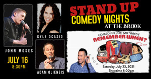 THE BROOK LAUNCHES STAND UP COMEDY NIGHTS!