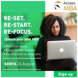 Online One-to-One MBA Event Kenya