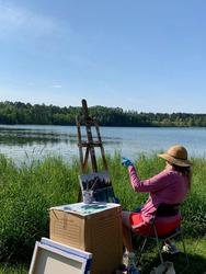 Workshop   Plein Air Landscape Painting with Gillian Bedford