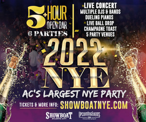 New Year's Eve in Atlantic City at The Showboat Hotel