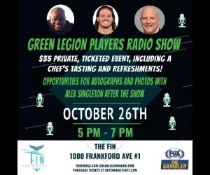 The Green Legion Player Radio Show Featuring Alex Singleton
