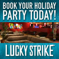 "Lucky Strike is ""More Fun Than Winning the Lottery"" says Philly magazine"