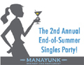 2nd Annual Philadelphia's Largest End of Summer Singles Party