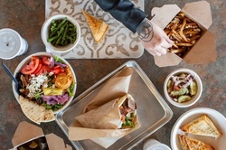 Food and Drink at The Simple Greek (Up to 30% Off). Two Options Available.