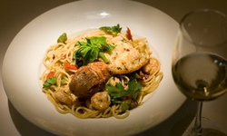 Upscale Italian Food for Dinner at Vincenzo's Italian Restaurant (47% Off). Two Options Available.