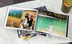 One, Two, Three, or Five Hard Cover 20-Page Photo Books from Collage.com (Up to 91% Off)