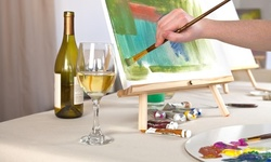 2.5-Hour Canvas Painting Class for Two, Four, or Six at Whet Your Palette (Up to 66% Off)