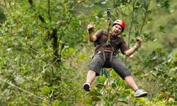 Three-Hour Conquer the Canopy Adventure for One or Two at Edge Adventures (Up to 31% Off)