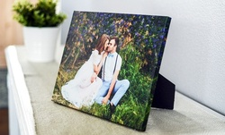 One or Two Custom Canvas Prints from Collage.com (Up to 88% Off). Nine Options Available.