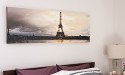 Custom Panoramic Canvas Prints from Collage.com (Up to 84% Off). Five Options Available.