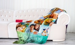 Personalized Premium Fleece Photo Blankets from Printerpix (Up to 95% Off). 15 Options Available.