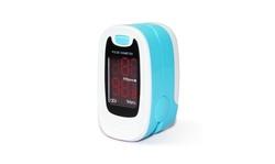 CMS50M Fingertip Pulse Oximeter Blood Oxygen SpO2 PR Monitor LED OXIMETER