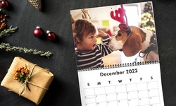 Custom Wall Calendars from Collage.com (Up to 84% Off). Six Options Available.
