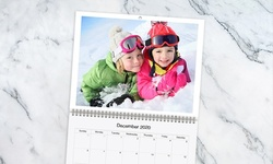 "11""x9"" or 14x11"" Personalized Premium Calendars from Picaboo (Up to 87% Off). 12 Options Available."