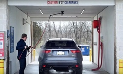 First Month of Unlimited Do-It-Yourself Car Washes at Douglasville Car Wash (54% Off)