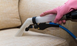 $175 for Upholstery Cleaning for Up to Three Pieces from KC Carpet and Upholstery Cleaners ($250 Value)