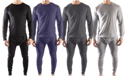 (2-Piece Set) Men's Thermal Long Johns Underwear