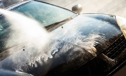 First Month of Unlimited Car Washes at Crown Car Wash (Up to 57% Off). Three Options Available.