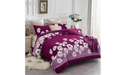 Warm Soft Plush Sherpa Comforter Set,Sherpa Blanket (3-Piece)