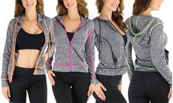 Women's Stylish Athletic Long Sleeve Performance Jacket