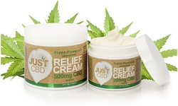 JustCBD CBD Pain Relief Cream (250mg or 500mg)