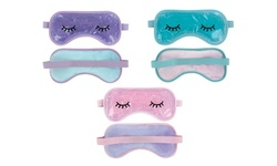 Soothing Gel Bead Cooling Eye Mask For Puffiness Headache Hot Cold Stress Relief