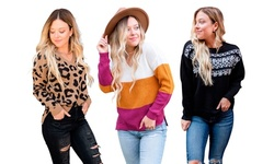 Instant Message : Women's Warm and Cozy Autumn Winter Fashion Sweaters
